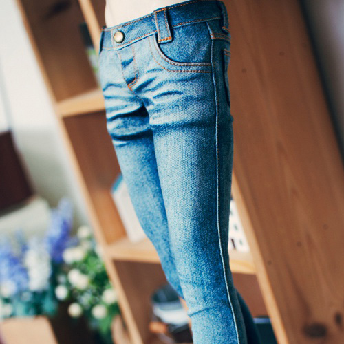 SD13 Boy Real Skinny Washing Jeans - Blue