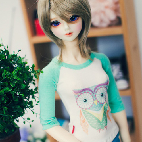 SD13 Girl Owl T shirt - Mint