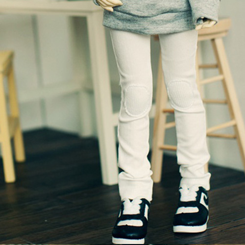 MSD Neat Skinny Pants - Snow White