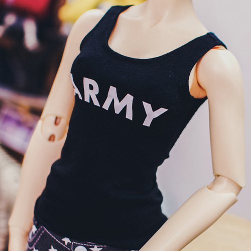 SD13 Girl ARMY Sleeveless - Black