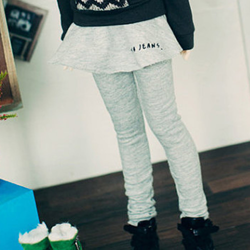 SD13 Girl Leggings Skirt - Gray