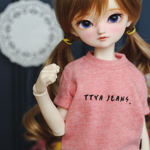 MSD & MDD Basic T shirt - L.Orange