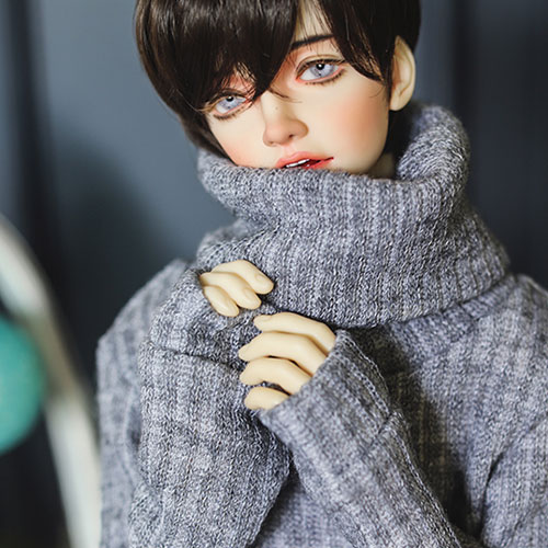 SD13 Boy Over Turtle Neck Kint - L.Gray