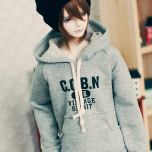 SD17 Boy Vintage Spirit Hooded T - Gray