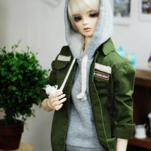 SD17 Boy Washing A Field Jacket - khaki