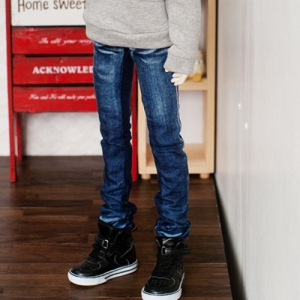SD17 Boy Washing Slim Jeans - Blue
