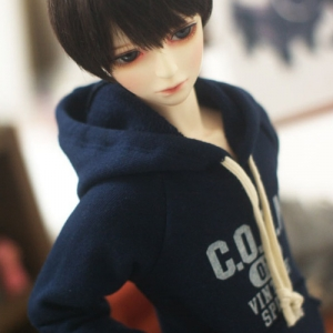 SD13 Boy Vintage Spirit Hooded T - Navy