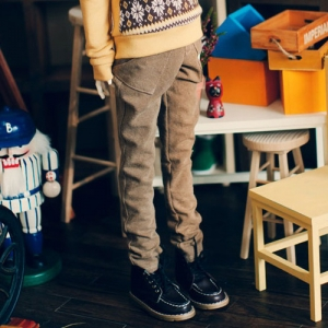 SD13 Band Baggy Pants - Chestnuts