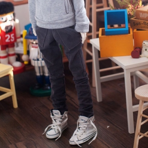 SD13 Boy Band Baggy Pants - Gray