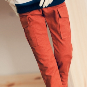 SD13 Boy Cargo Pants - Orange