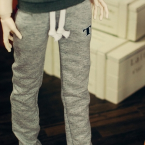 SD13 Boy Sweat Pants - L.Gray , Blue