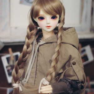 SD13 Girl & Smart Doll Washing Cape - Beige