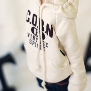 MSD Vintage Spirit Hooded T - Beige