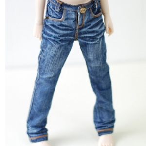 MSD Washing Baggy Jeans - Blue