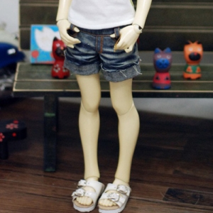 MSD Vintage Washing Short Jeans