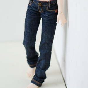 MSD Basic Slim Jeans - Blue