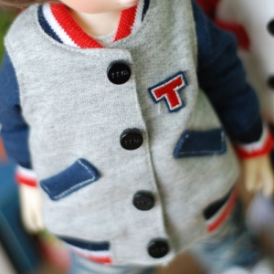 USD Lovely Baseball Jumper - Blue