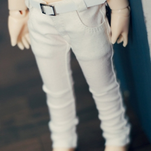USD Color Skinny Pants - White
