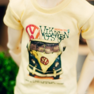 SD17 Boy Van Decal  T shirt - Yellow