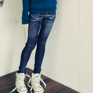 SD13 Girl Real Skinny Washing Jeans - Blue