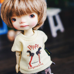 Pippi Long T shirt - Yellow