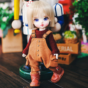 Cotton Overall - L.Brown