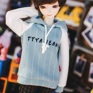 MSD TTYA Logo Hooded T - Mint