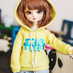 USD STAR TTYA Hooded T - Yellow