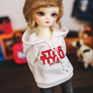 USD STAR TTYA Hooded T - R.White