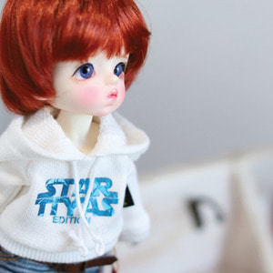 STAR TTYA Hooded T - B.White