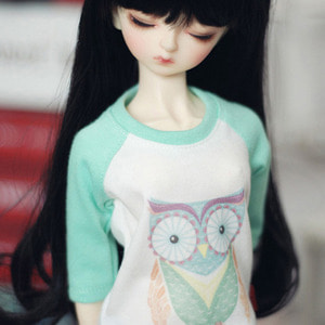 MSD Owl T shirt - Mint