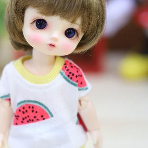 Little Watermelon T shirt - White