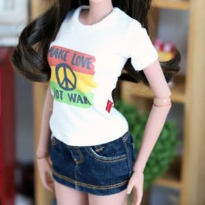 SD13 Girl & Smart Doll MAKE LOVE T shirt