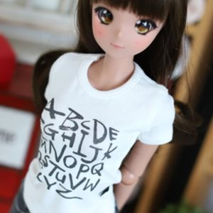SD13 Girl & Smart Doll Alphabet T shirt