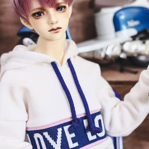 SD17 Love Hooded T - B