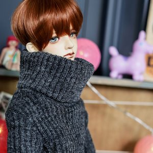 SD13 Boy Over Turtle Neck Kint - D.Gray