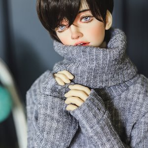 SD17 Over Turtle Neck Kint - L.Gray