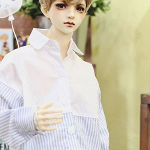 SD13 Boy FreeHalf line Shirt - Sky