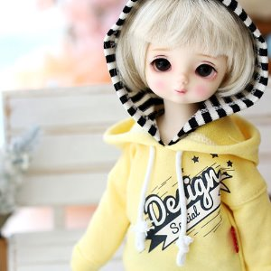 USD Design Special Hooded T - Yellow