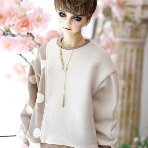 SD17 Dot & Beige_MTM - Brown