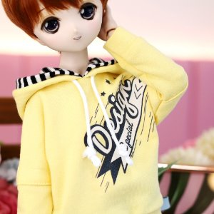 MSD & MDD Design Special Hooded T - Yellow