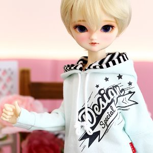 MSD & MDD Design Special Hooded T - Mint