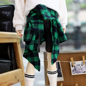SD17 & SD13BOY & SD13Girl Layered Shirt - Green