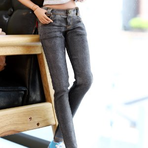 SD13 Girl & Smart Doll Real Skinny Washing Jeans - Black
