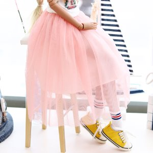 SD13 GIRL & Smart Doll long sha skirt - Pink