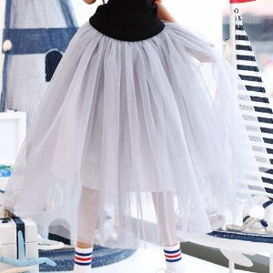 SD13 GIRL & Smart Doll long sha skirt - Gray