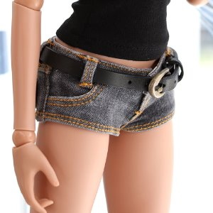 SD13 GIRL & Smart Doll Belt Short Pants - Gray