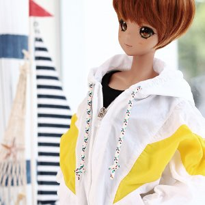 SD13 GIRL & Smart Doll Windscreen Jumper - Yellow
