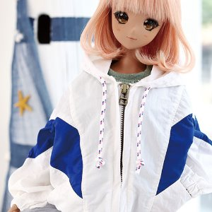 SD13 GIRL & Smart Doll Windscreen Jumper - Blue
