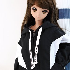 SD13 GIRL & Smart Doll Windscreen Jumper - B.White